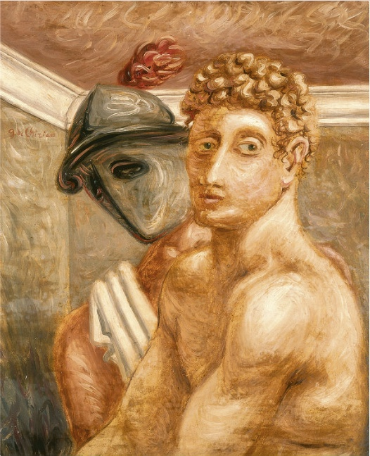 GIORGIO DE CHIRICO (1888-1978) - Due volti o i Gladiatori, 46 x 38 cm, signiert, 1928 Schätzpreis: 400.000-600.000 EUR