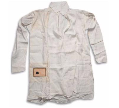 Napoleon's shirt worn on St. Helena