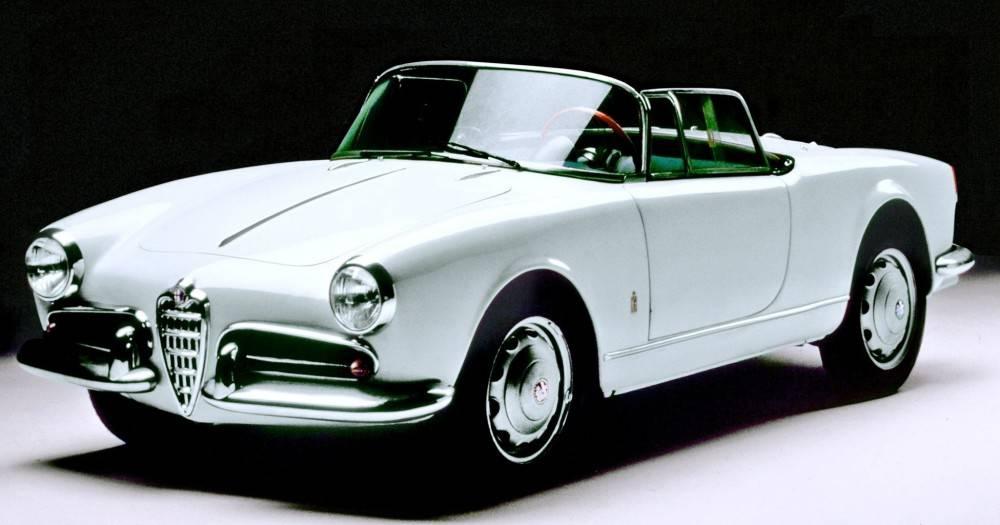La Giulietta Spider, 1955. Courtesy: Fiat Group Auto