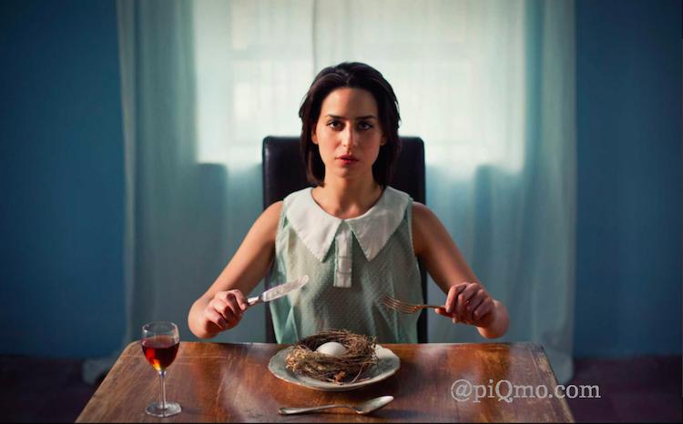 """Pini Hamous verk """"Dining"""" har en upplaga på 50"""