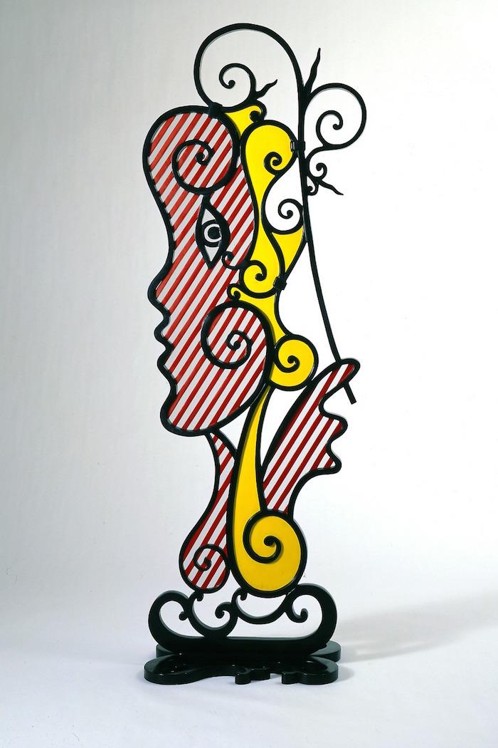 Roy Lichtenstein, Surrealist Head (1986). Foto: harpersbazaar.co.uk
