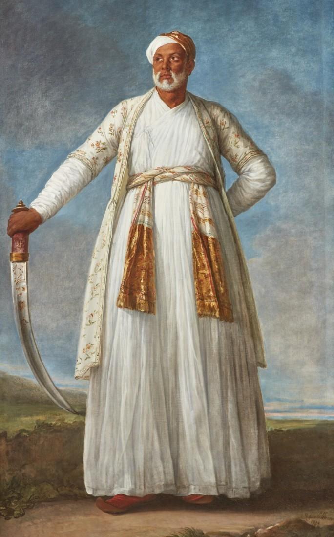 Élisabeth Vigée-Lebrun (1755 Paris 1842), Portrait des Mohammed Dervish Khan, 1788 | Abb.: Sotheby's