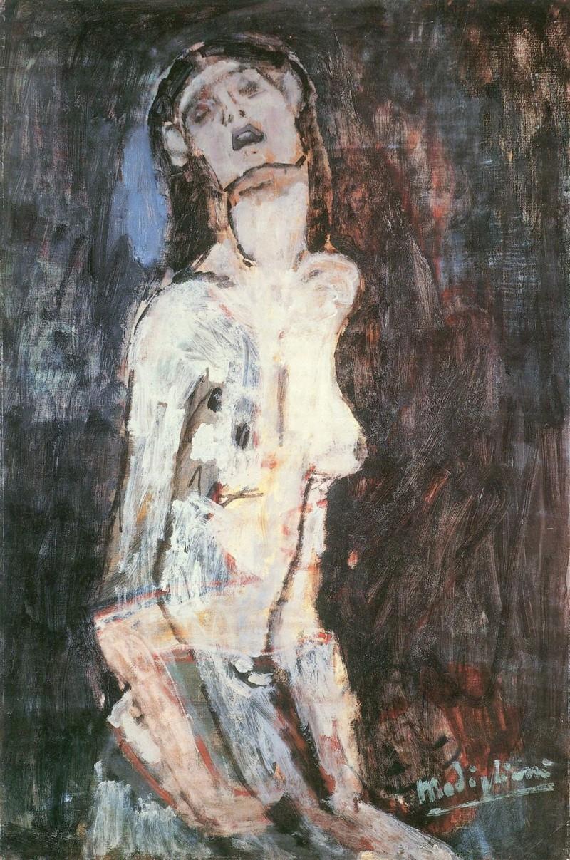 Amadeo Modigliani, 'Knot Dolente', 1908. Bild: Curiator