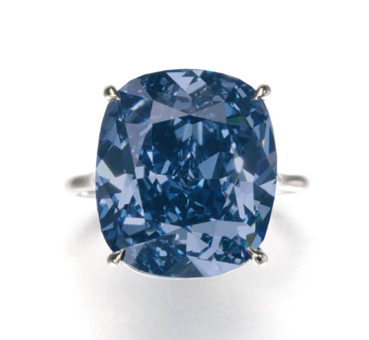 The Blue Moon of Josephine, image ©Sotheby's
