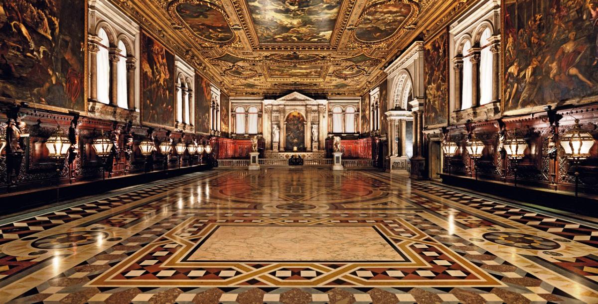 Scuola di San Rocco decorated with the artwork of Tintoretto. Image: Inside Veneto