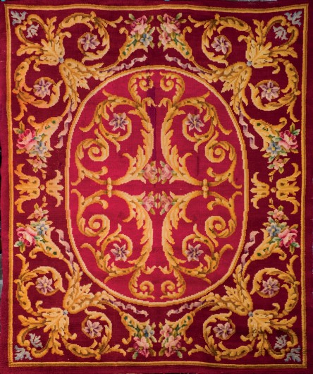 Spanish Wool Rug by Miguel Stuyck. Photo: Durán Arte y Sebastas