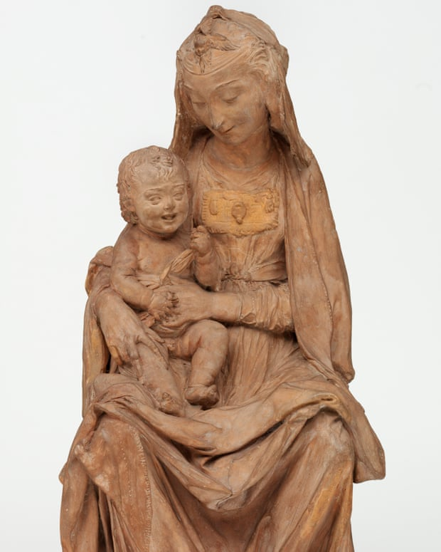 """Madonna mit dem lachenden Kind"", um 1472 | Foto: Victoria & Albert Museum, London via The Guardian"