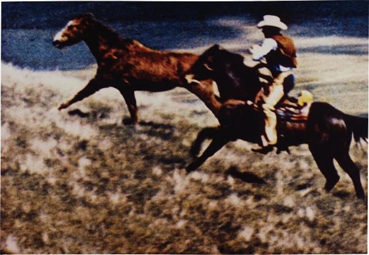 "Richard Prince, ""Untitled (cowboy), Phillips, barnebys"