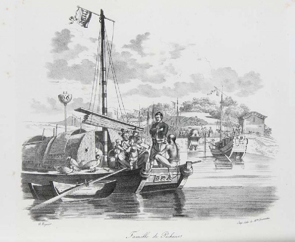 D. Bazin de Malpière - La Chine et les Chinois. Mours, usages, peines et chatiments ... , Paris J. Caboche, Demerville et Cie 1848