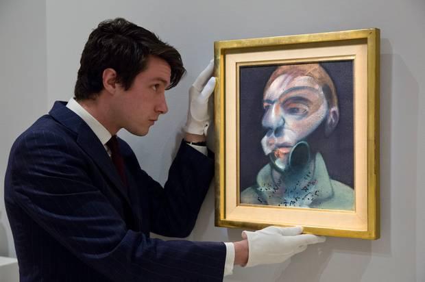 """Self-portrait"" 1975."