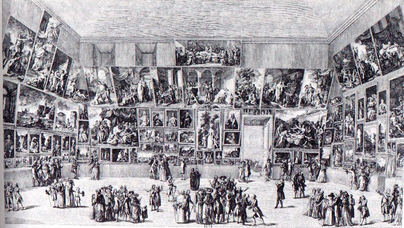 Der Salon de Paris 1785 | Abb. via suny.oneonta.edu
