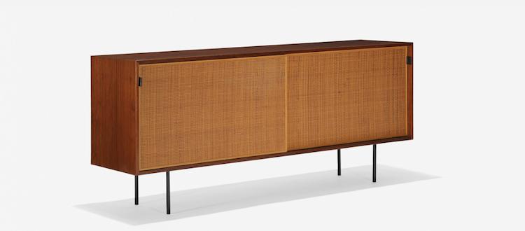FLORENCE KNOLL. Cabinet, model 116. Knoll Associates, USA 1948. Low estimate: $ 4000