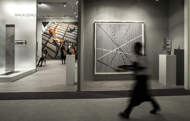 More and more Asian galleries are taking part in the world's premier art fairs