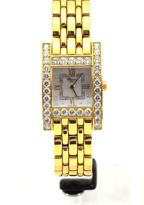 """Reloj CHOPARD """"Your Hour"""" en oro amarillo con diamantes. Precio estimado: 15.000-20.000 €. La subasta termina el 10 de diciembre a las 20 h."""