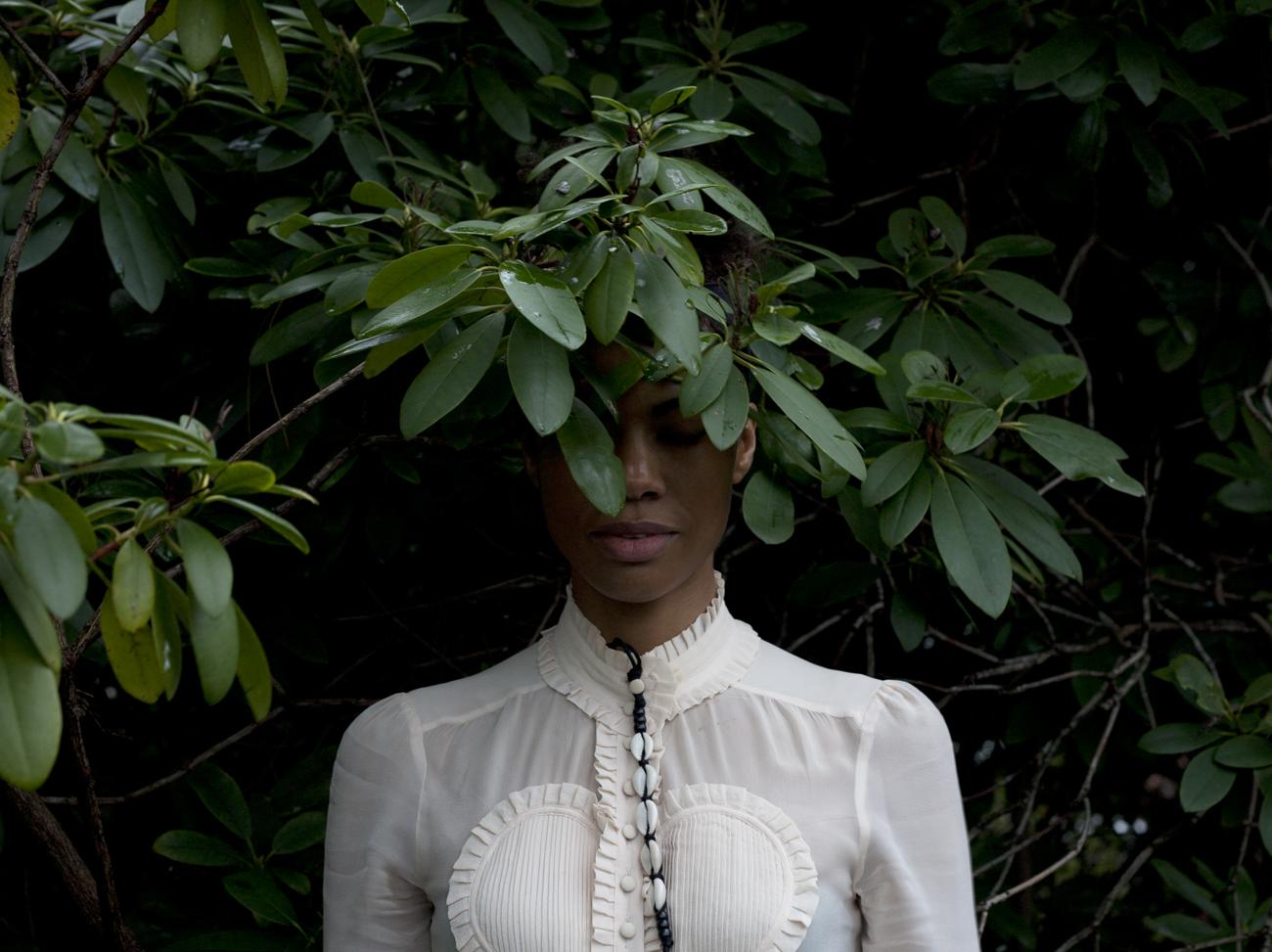 From Zohra Opoku's Self Portrait series