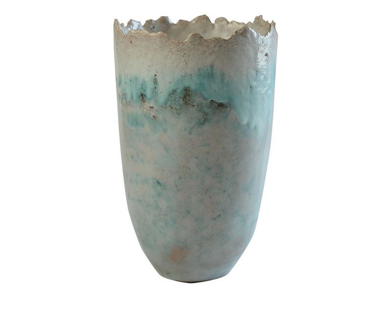 Gran jarrón de terracota de WANDA FISCINA