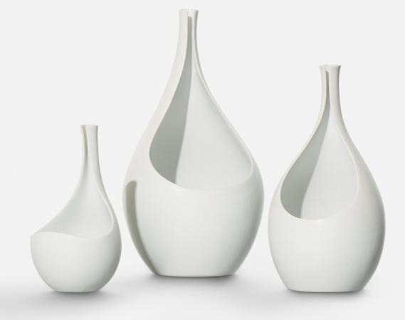 Trois vases Pungo Stig Lindberg Wright Now