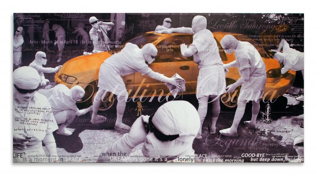3_Jose Tence Ruiz, CSI Chimoy Si Imbisibol Hugas Kotse 圖片取自:ART STAGE SINGAPORE