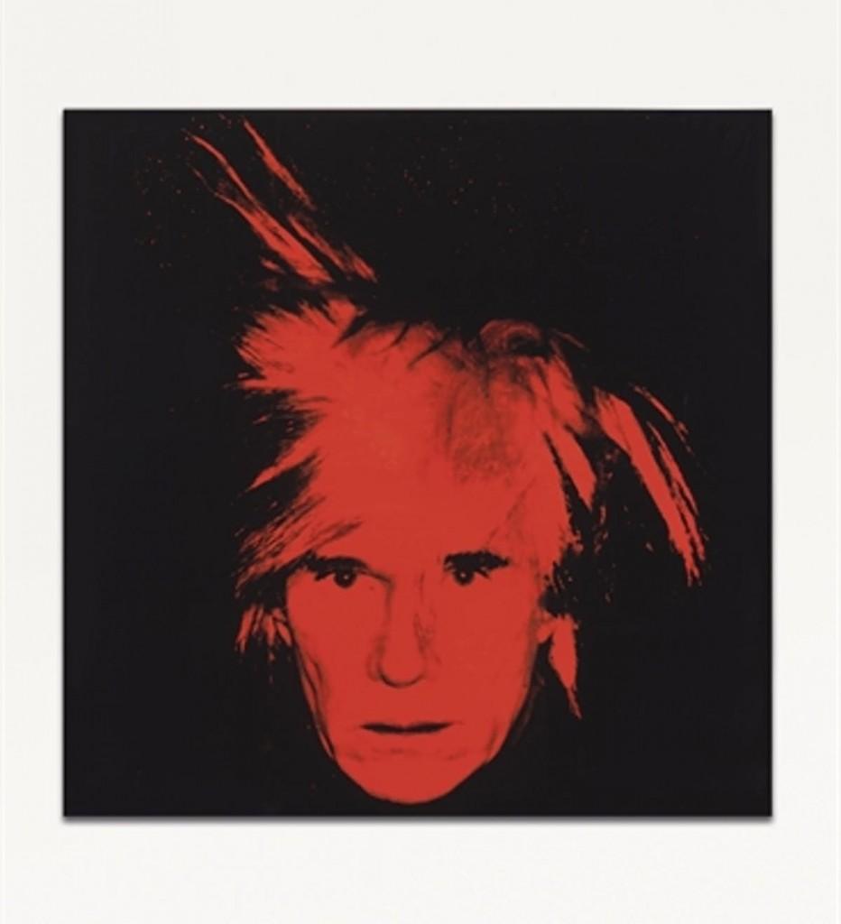 Self-Portrait, 1986. Vendu chez Christie's en 2011 pour 27 522 500 USD, image ©Christie's