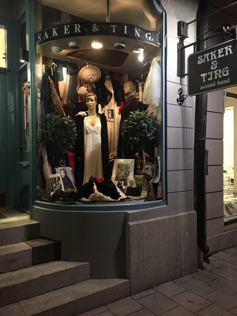 Saker&Ting- Stockholms minsta vintagebutik.