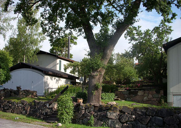 Villa Erskine_Drottningholm_arkitektritat boende_Ralph Erskines