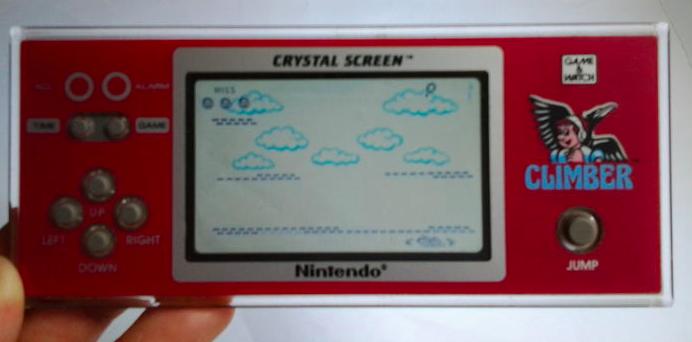 Game & Watch Crystal Screen - Climber En vente chez Catawiki