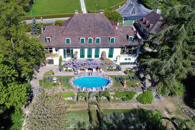 La Villa Aigue-Marine jouit d'un cadre idyllique Image: Michel Perret