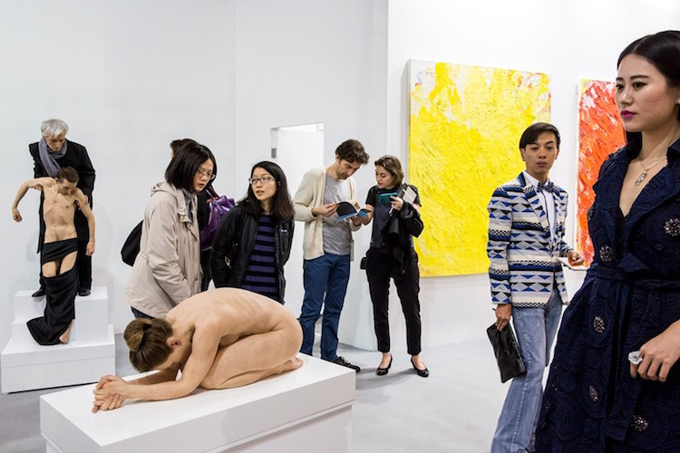 Art Basel i Hong Kong. Photo by Jessica Hromas/Art Basel 2015 © Art Basel