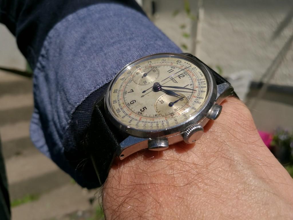 Todays Wristshot: Tissot Chrono