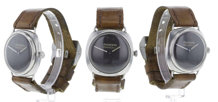 Montre Panerai de plongée datant de la Seconde guerre mondiale Images via Fellows