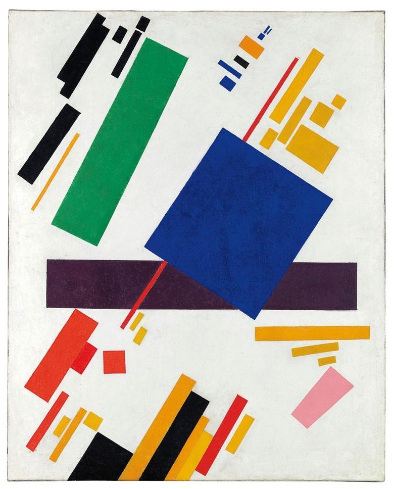 Suprematist Composition, Kazimir Malevich. Foto: Christie's.
