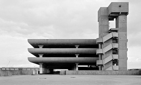 The Tricorn Centre, designed by Owen Luder and Rodney Gordon was a shopping, nightclub and car park complex in Portsmouth