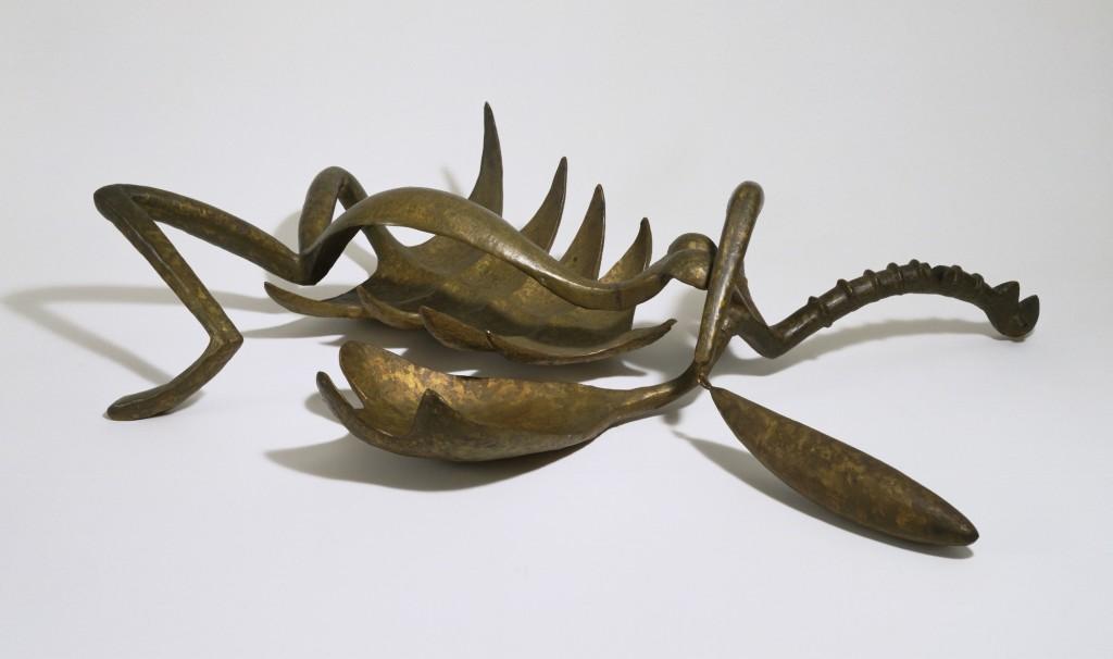 Femme égorgée, Alberto Giacometti. 1932, bronze, image ©MoMA