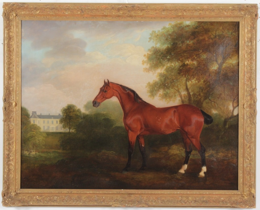 18th c. English oil painting