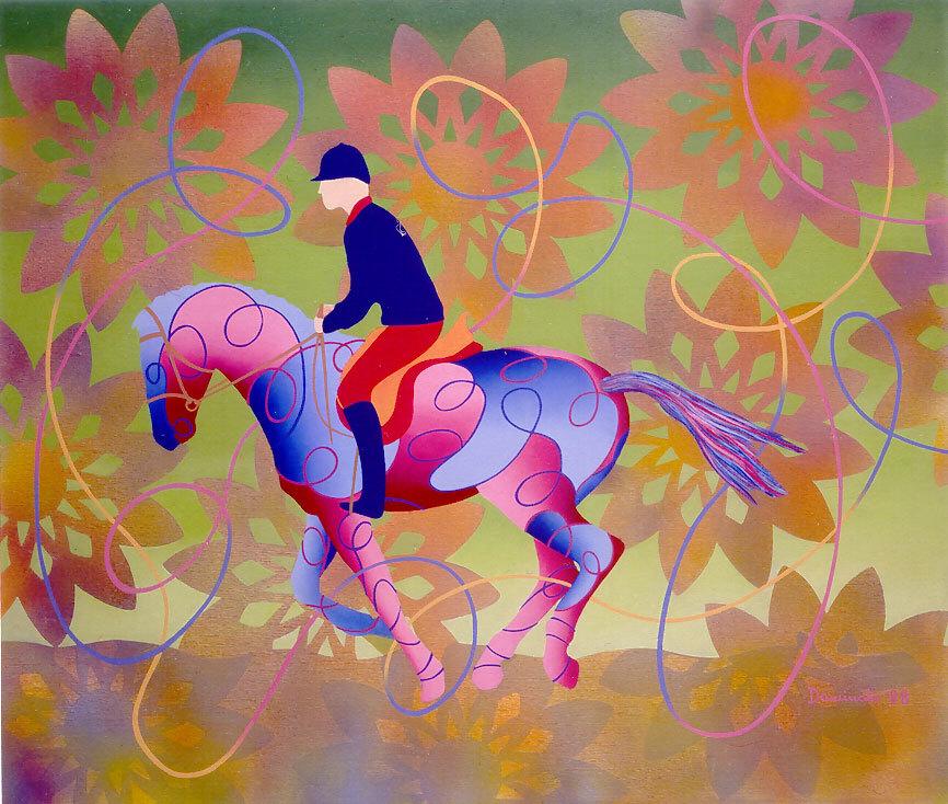 Vanda Dominato, The garden of FinziContini, 1998
