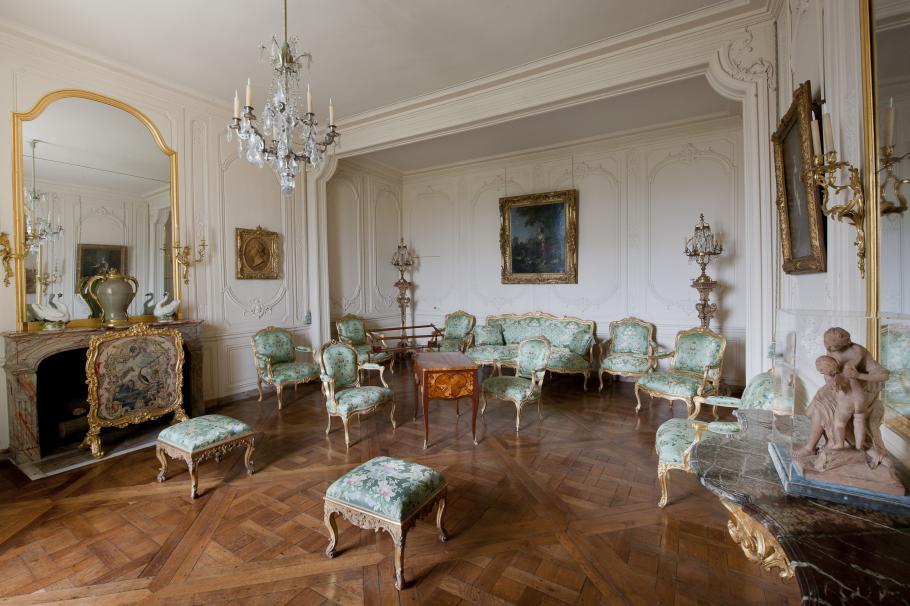Madame du Barry's apartments at Versailles. Image: Chateau de Versailles