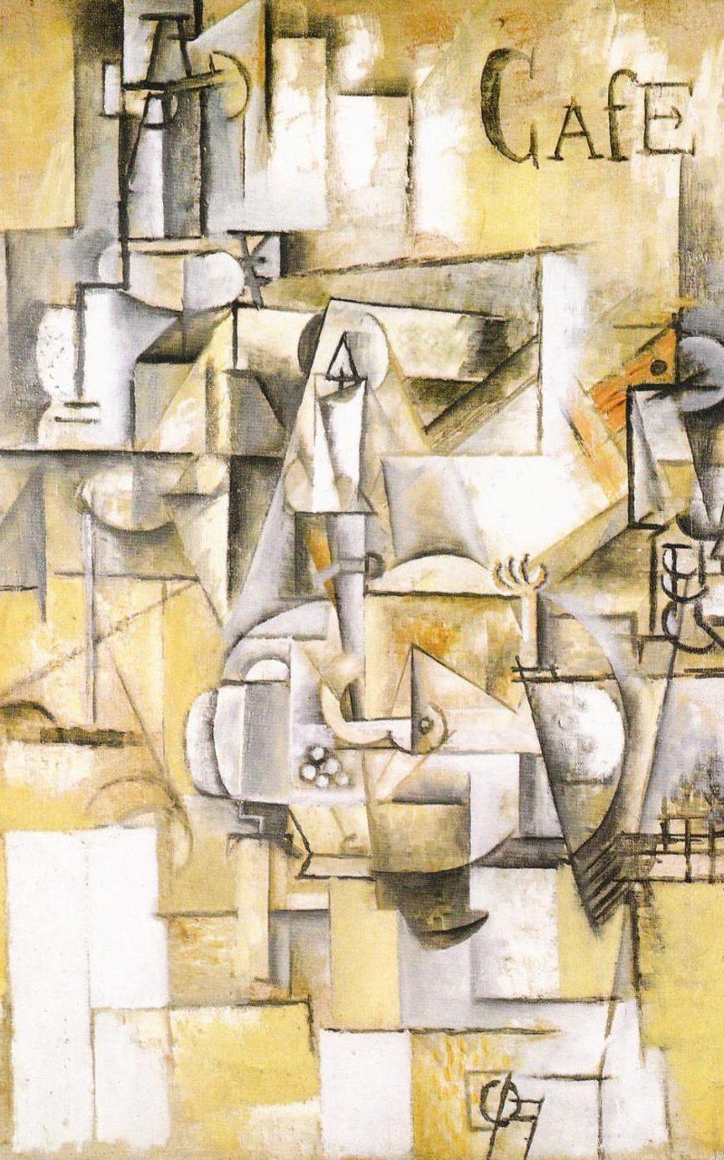 Pablo Picasso, Le pigeon aux petits pois, 1911.