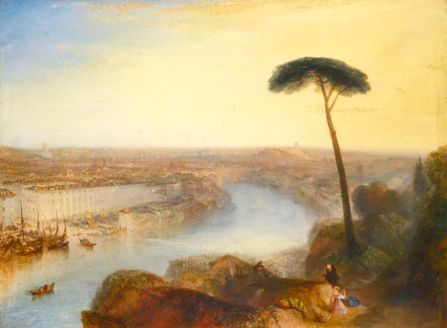 JOSEPH MALLORD WILLIAM TURNER, R.A. ROME, FROM MOUNT AVENTINE. Utropspris: 175 000 000 SEK. Sotheby's