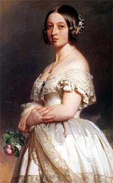 年輕時的維多利亞女王