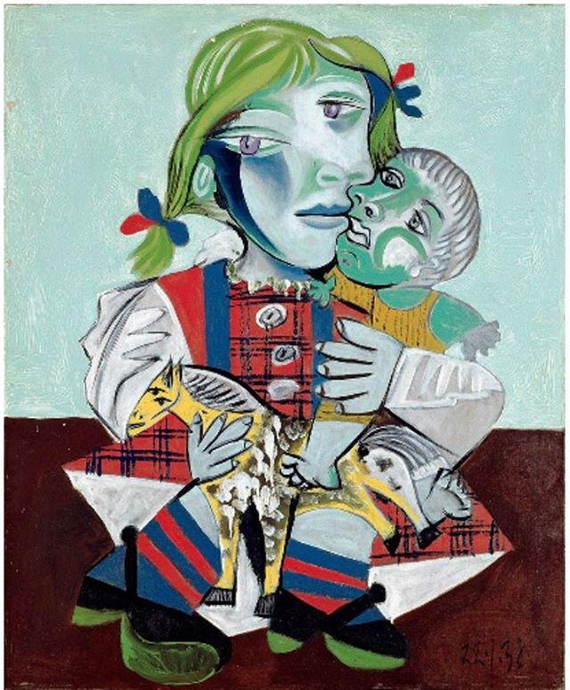 Pablo Picasso - Maya à la Poupée, 1938