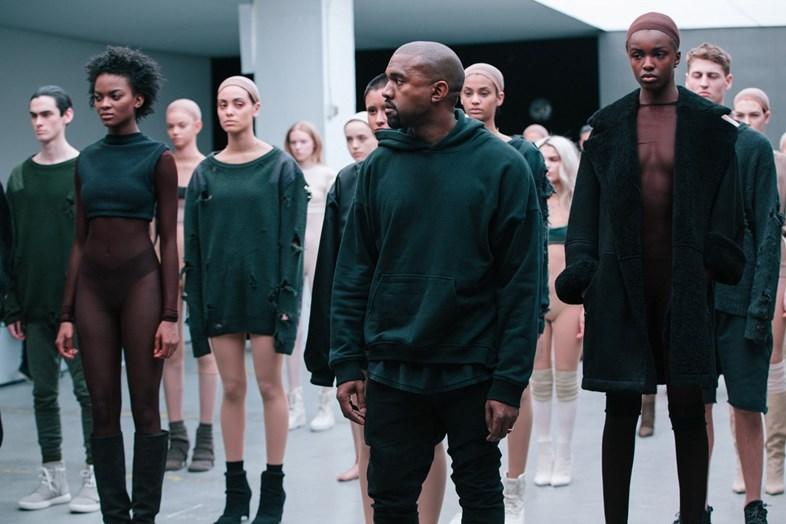 Kanye West x adidas AW15 Image via Dazed Digital