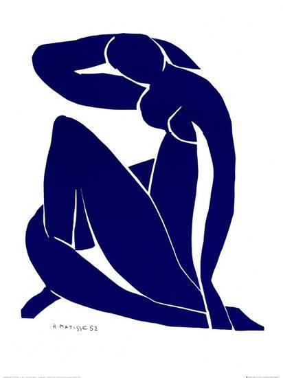Blue Nude II. Foto: art.co.uk.