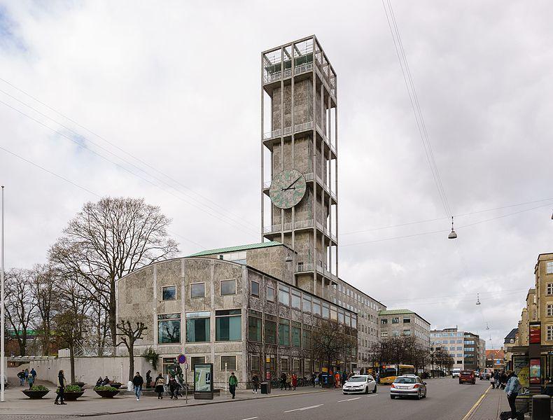 Aarhus City Hall, 1941, image via WikiCommons
