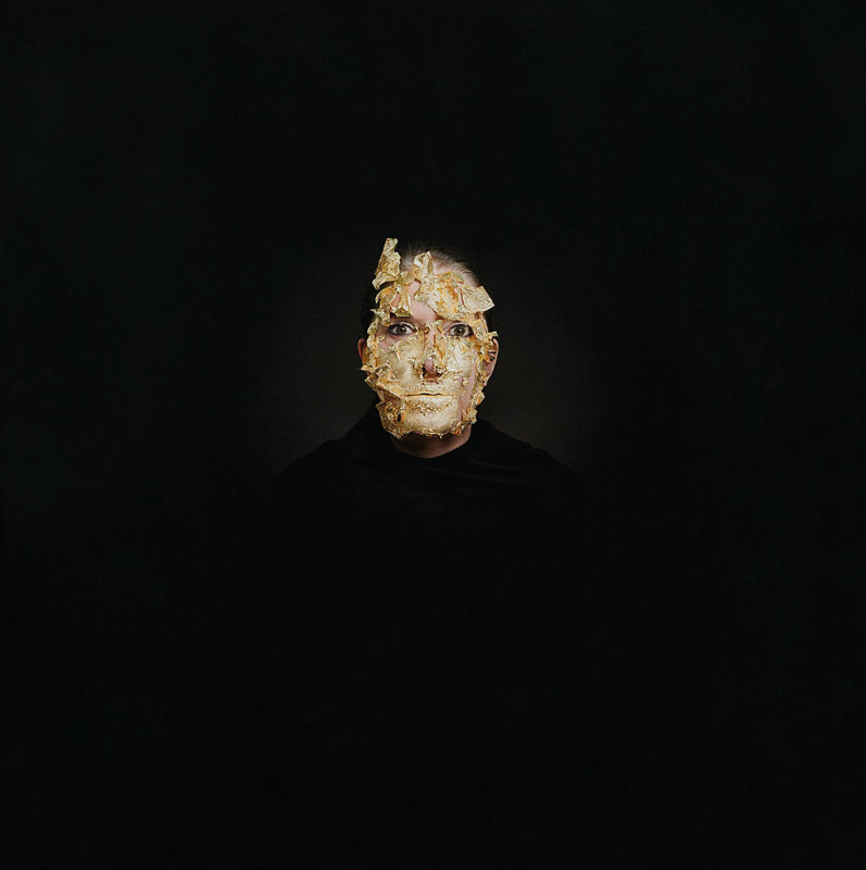 Marina Abramović - Golden Mask, 2009 Aspire Art Auctions