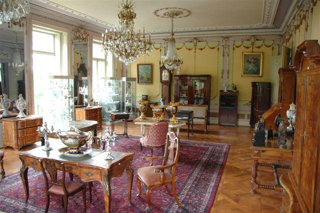 Der Auktionsaal auf Schloss Hagenburg | Foto: schlosshagenburg.com