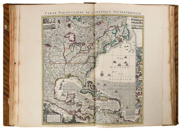 Bokauktion, atlas, Delisle, Guillaume, Sanson D´Abbeville, Stockholms Auktionsverk, von Celsing, Biby