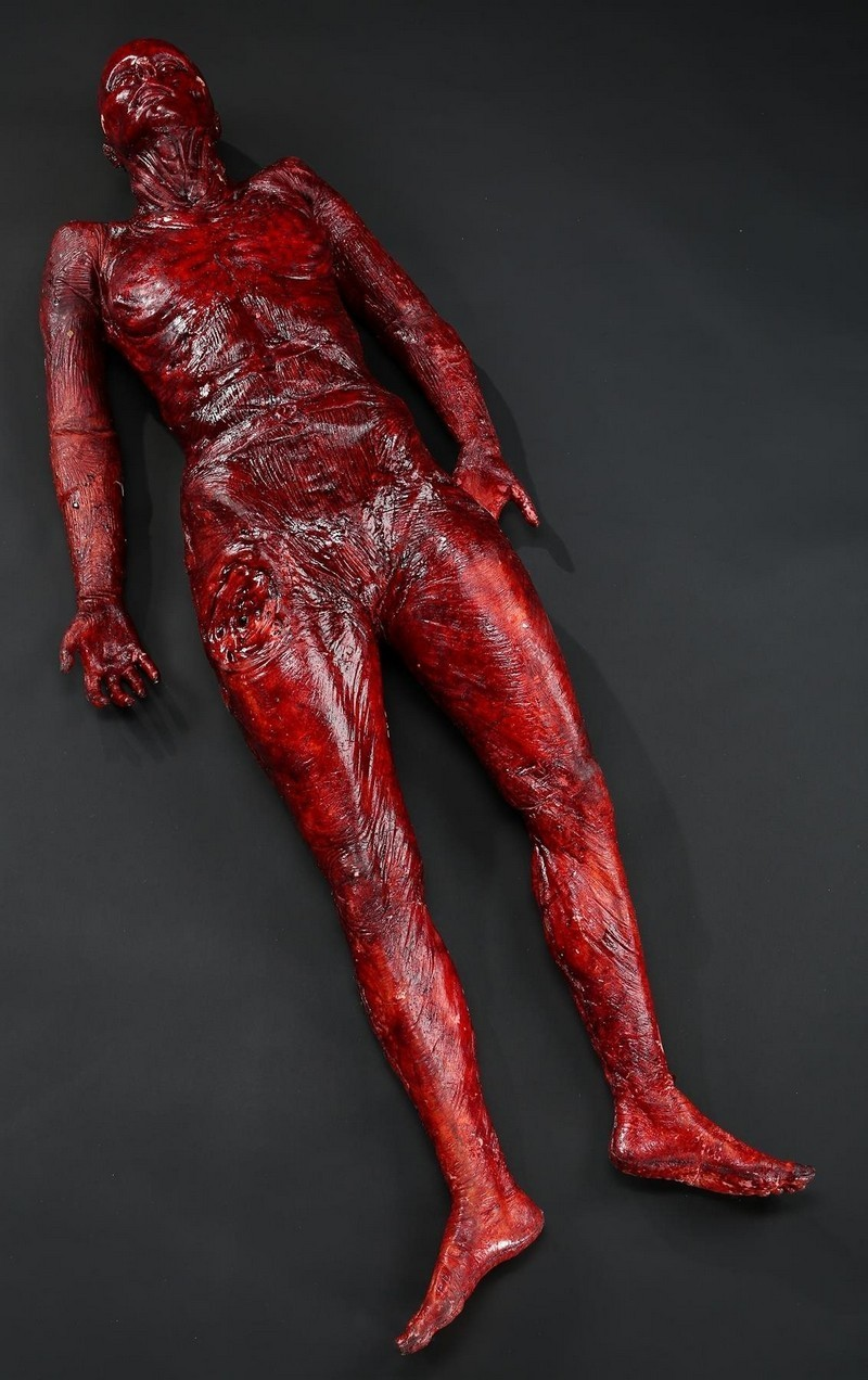 Karls Watkin's skinned body. Photo: Prop Store