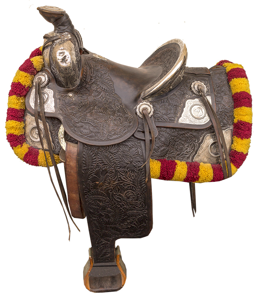 Gorgeous Keyston Brothers parade saddle