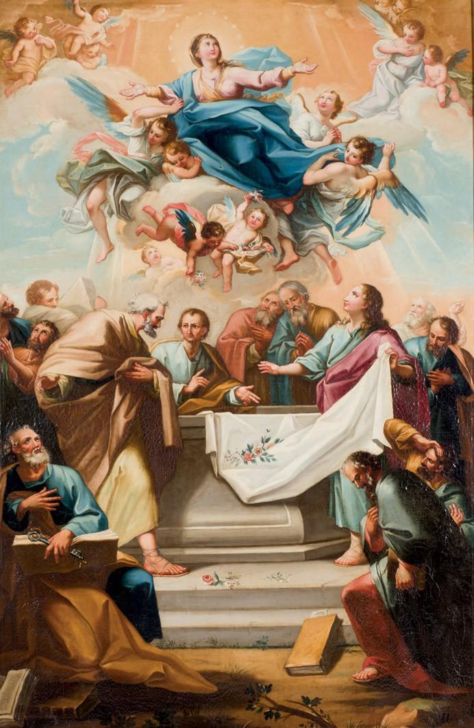 """Círculo MARIANO SALVADOR MAELLA. """"La Asunción de María"""" (SS. XVIII-XIX)"""