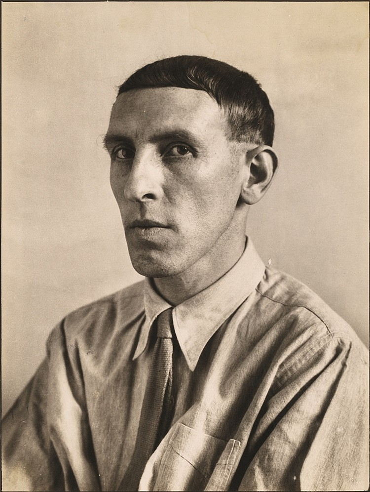 August Sander, Heinrich Hoerle, 1931